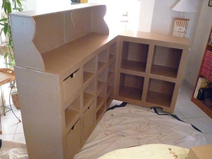 Comptoir Photo De Mobilier Katoukarton Design En Carton Meuble En Carton Meubles En Carton