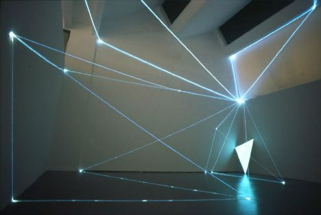 Environmental light installations by Carlo Bernardini : lighting art - azcodes.com