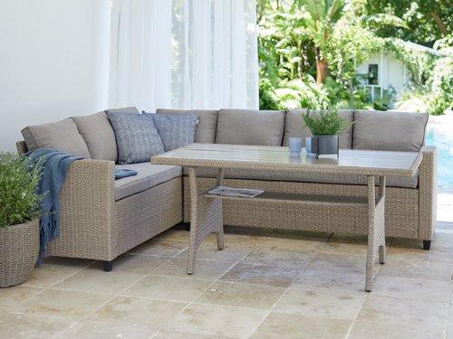 Zahradni Sestava Ullehuse 6 Os Prirodni Jysk In 2020 Luxury Patio Furniture Red Patio Furniture Metal Patio Furniture