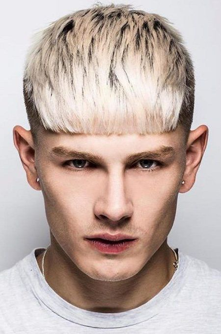 Men S Short Bangs Hairstyles Men S Hairstyles And Haircuts For