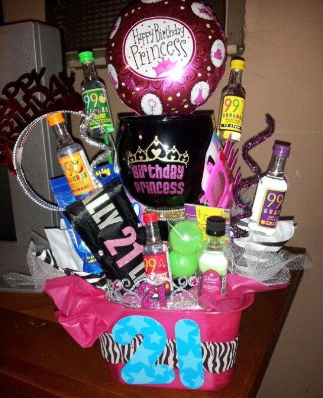 Birthday Gifts For 21 Year Old Women: 21st Birthday Bucket Idea!!