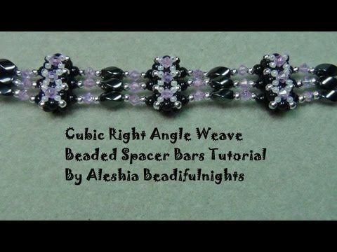 Tubular beadwork tutorial (Chenille Stitch): a simple idea for a tubular…