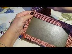 TUTORIAL - BASE RIGIDA CON PERIMETRO AD UNCINETTO PER BORSA (part 1) - YouTube