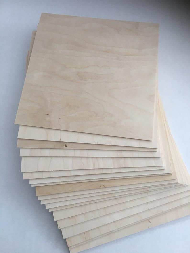 40 Pieces Of 12 X 12 Birch Plywood 1 8 3mm Etsy In 2020 Birch Plywood Baltic Birch Plywood Laser Engraved Wood