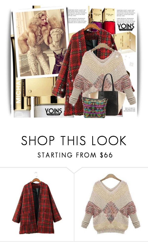 """""""Yoins V/1"""" by amerlinakasumovic ❤ liked on Polyvore featuring Michael Kors, yoins, yoinscollection and loveyoins"""