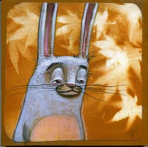 happy rabbit. by-Brett Superstar