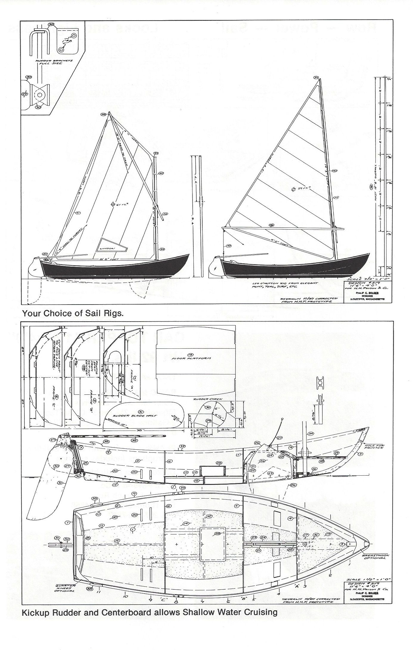 Small (light) Sail/Row Boats for Big People | Boat, Yacht and Sail in 2019 | Boat building ...