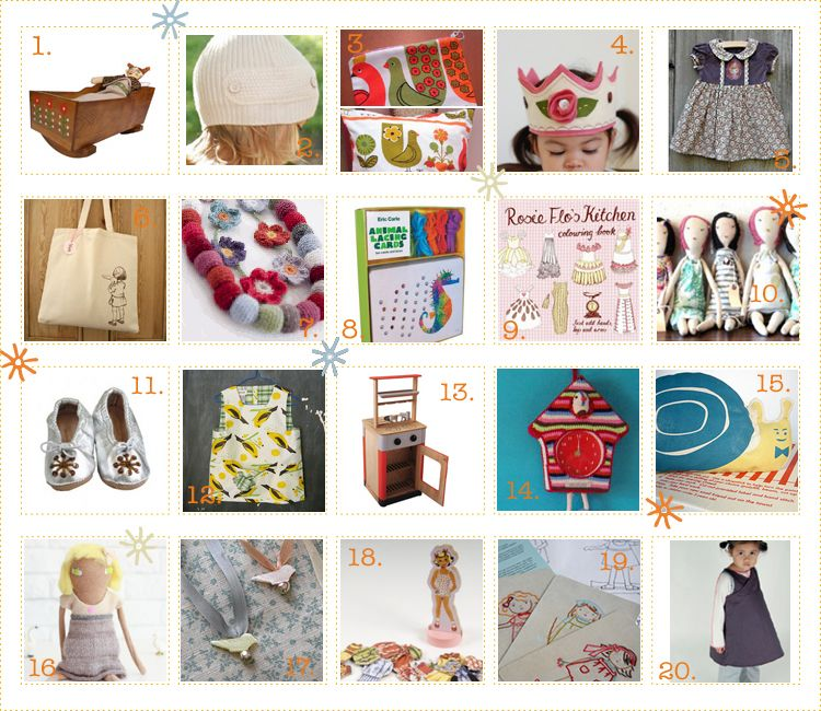 Gift Ideas: for girls only  BKids' Gift Guide 2008