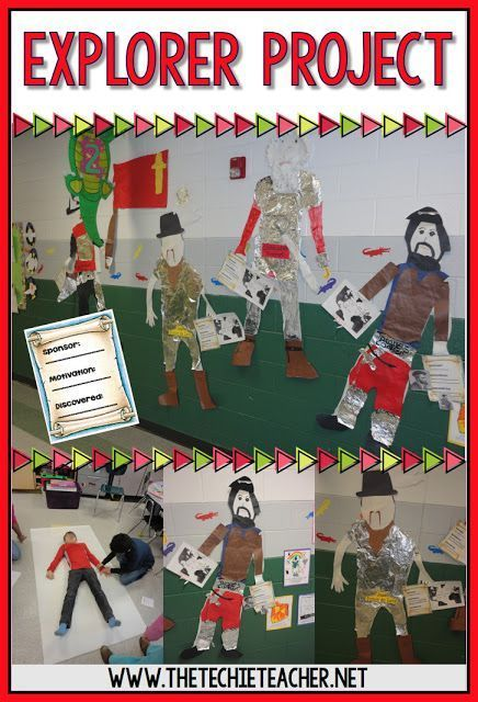 European Explorers Project Freebies Teaching Social Studies Ideas