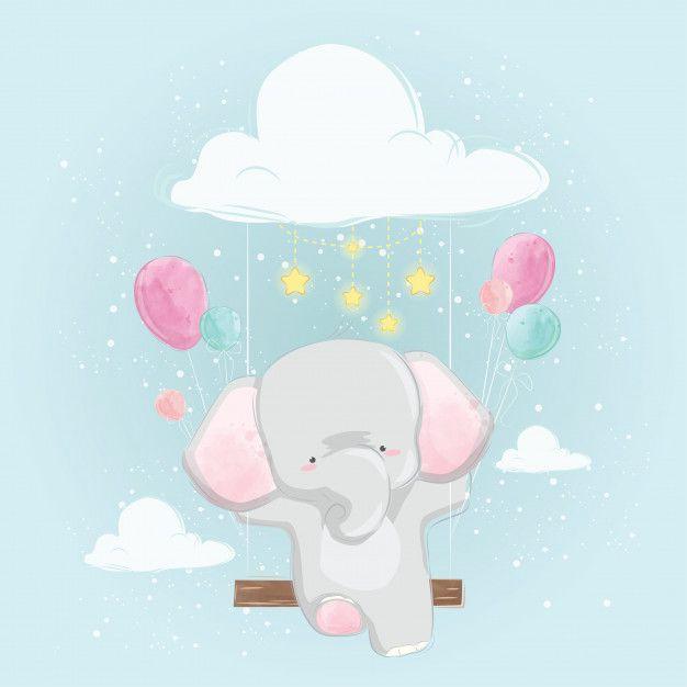 Fotos De Skrapbuking Rukodelie Dibujos De Animales Tiernos Dibujo Animales Infantiles Elefantes Bebe