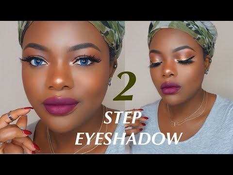 two step eyeshadow for beginners  youtube with images