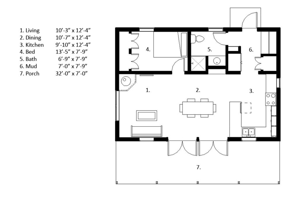 Free bachelor house plans – Idea home and house