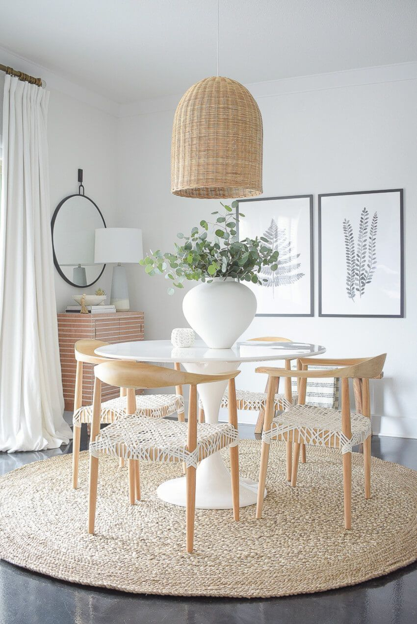 the spring cleaning checklist you need room by room with images dining room decor modern on boho chic dining room kitchen dining tables id=58596
