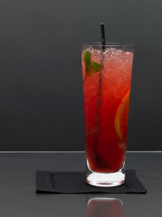 Low-calorie cocktail for New Year's: Sea Breeze