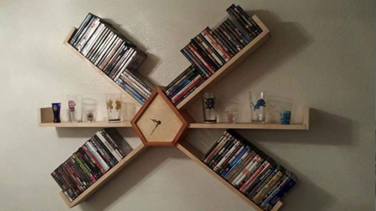 مكتبات منزلية بسيطة 2017 مكتبة للكتب في المنزل 2017 مكتبات مودرن بسيطة Creative Bookshelves Shelves House Shelves