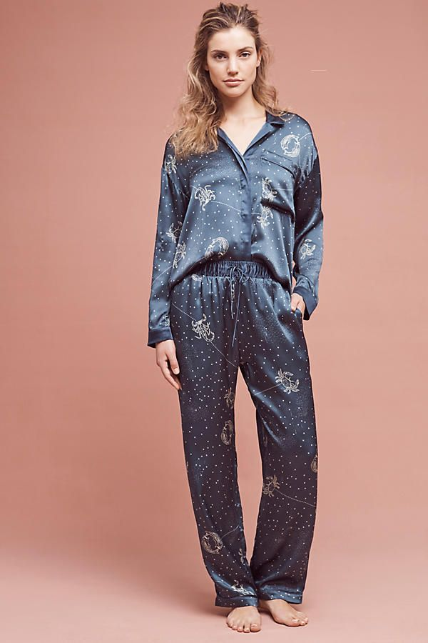 Dear Bowie silk astrology pajama set from Anthropologie (US  385 ... 5a77b0421