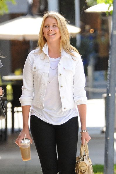 Lo Bosworth Denim Jacket | Denim jackets, The white and Pants
