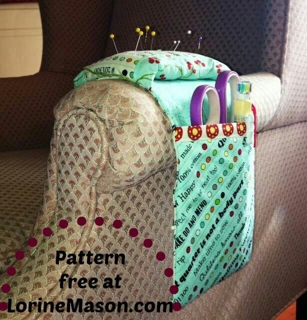 Armchair Pin Cushion Pattern Crafts Needlework Sewing Projects