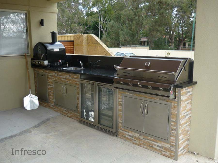 alfresco kitchen example 185 by infresco outdoor kitchen cabinetsbbq. Interior Design Ideas. Home Design Ideas