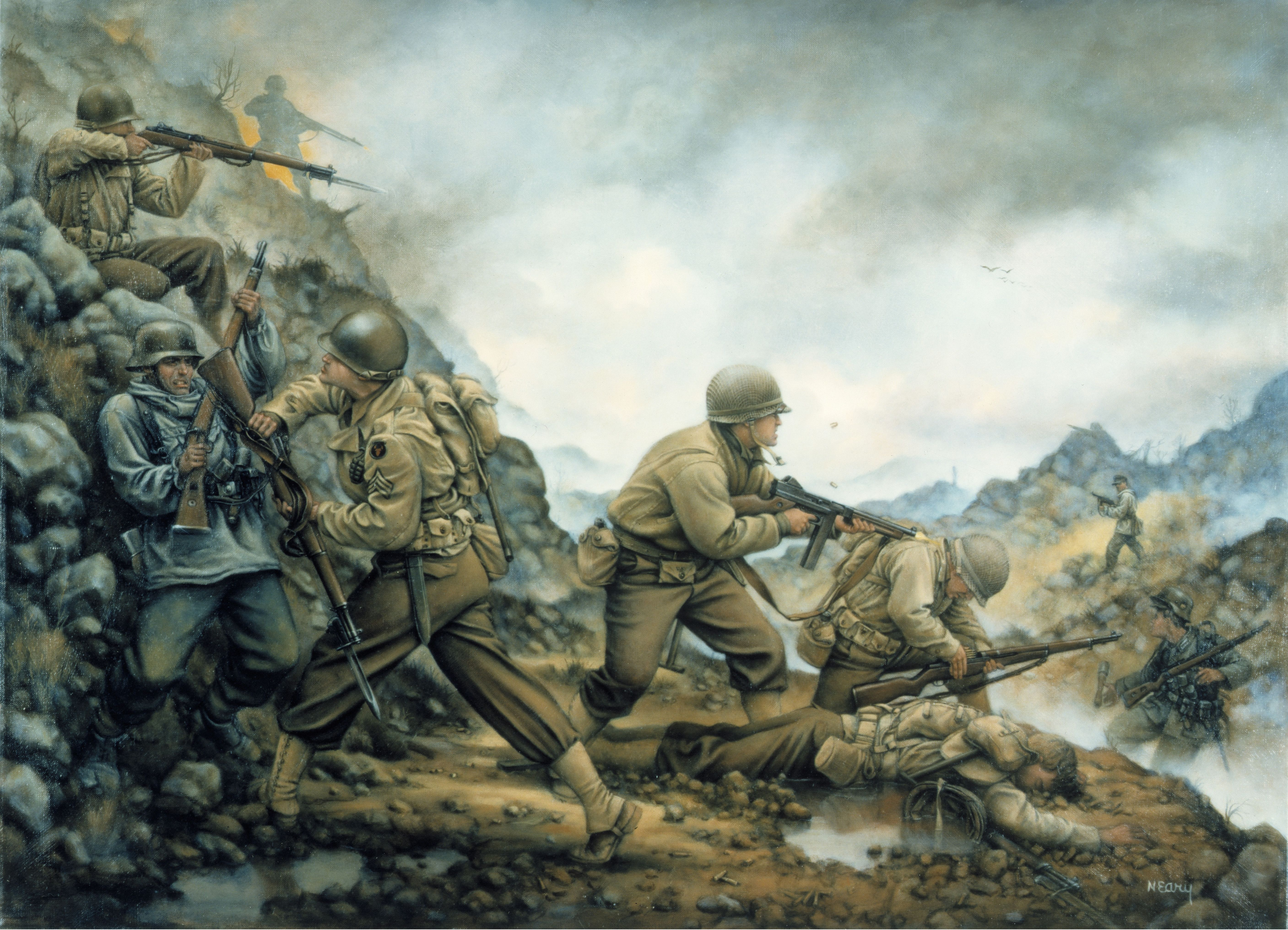 Day reenactment ww ii pictures pinterest - Battle Of Pantano By Donna J Neary Wwiimilitary