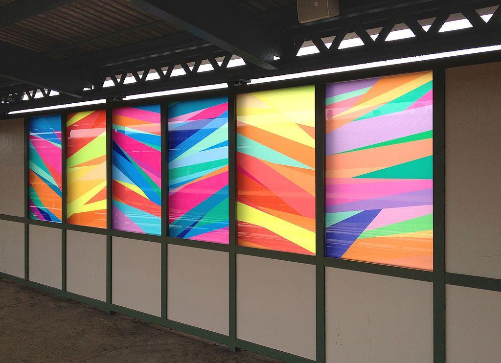 20th Avenue subway art