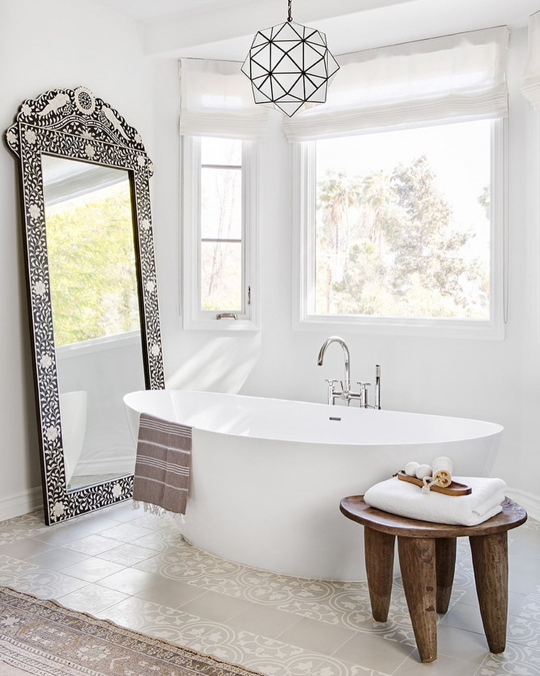Domino On Instagram Two Words Dream Bathroom Really Do You Have Any Other Word Spanish Style Bathrooms Mediterranean Style Homes Mediterranean Home Decor