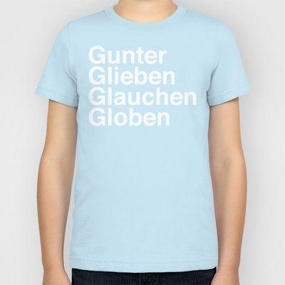 Def Leppard - Rock of Ages - Gunter Glieben Glauchen Globen Kids T-Shirt by AudioVisuals - $20.00