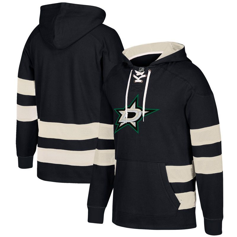 68a17eded69 Dallas Stars CCM Jersey Pullover Hoodie - Black