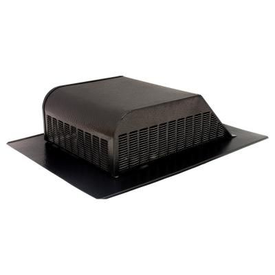 Air Vent 50 Sq In Nfa Aluminum Slant Back Roof Louver Static Vent In Black Sold In Carton Of 6 Only Ventilation System Aluminum Screen Air Vent