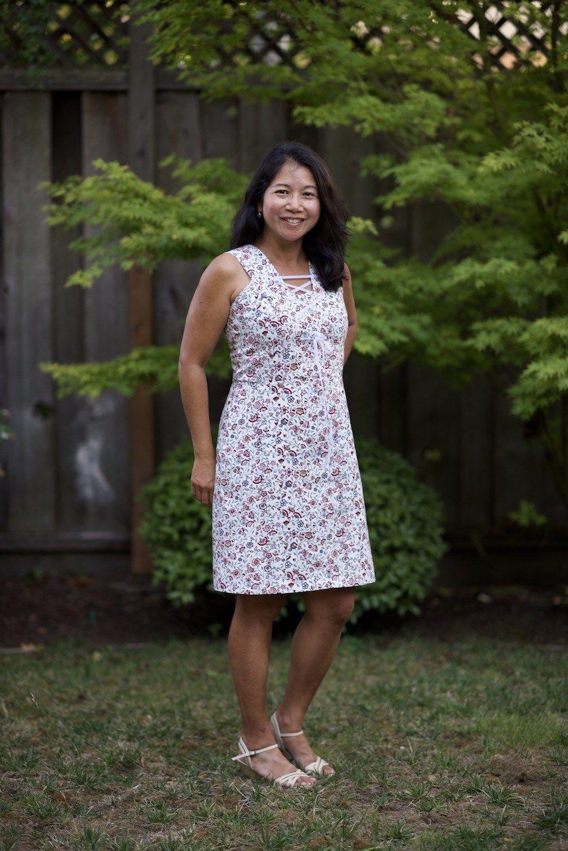 New Pattern Oia Dress Sewing Dresses Dress Sewing Patterns Dresses [ 1498 x 1000 Pixel ]