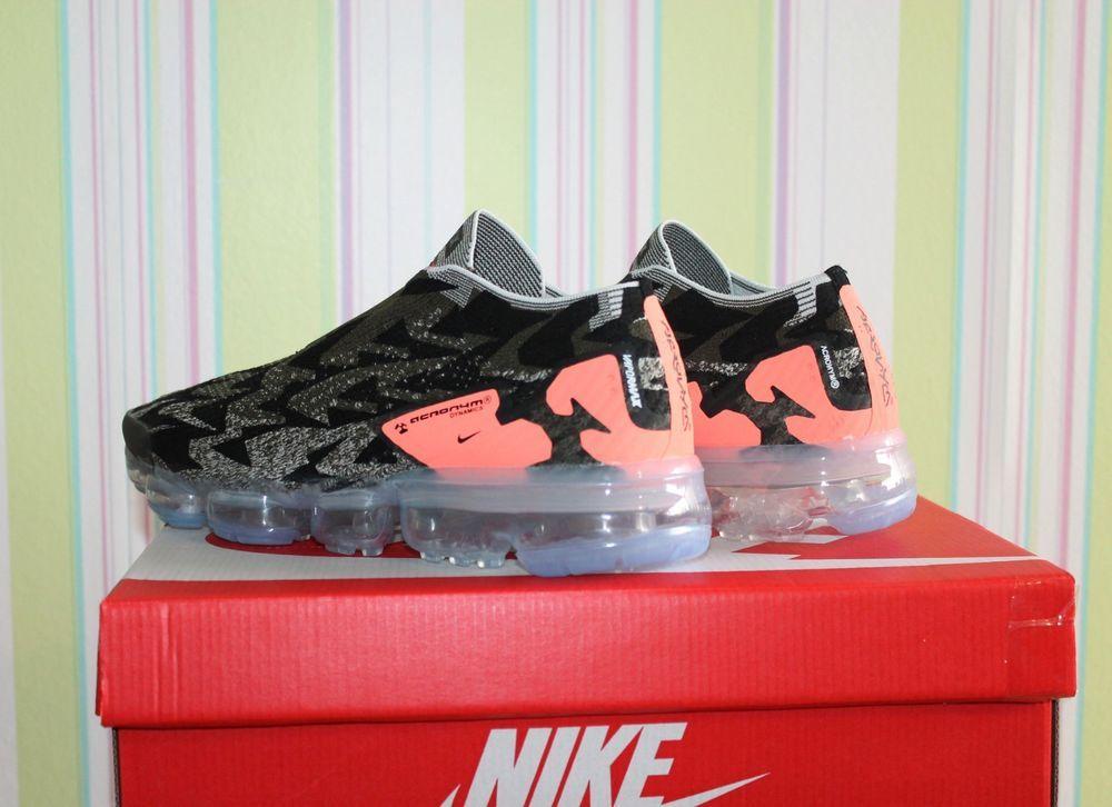f5288978eb8 NIKE TRAINERS X ACRONYM AIR VAPORMAX FK MOC 2 CARGO KHAKI-STUCCO UK -7.5  8.5  fashion  clothing  shoes  accessories  mensshoes  athleticshoes (ebay  link)