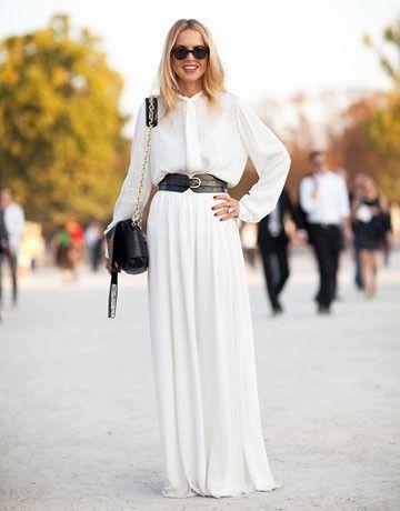 White on White / Rachel Zoe