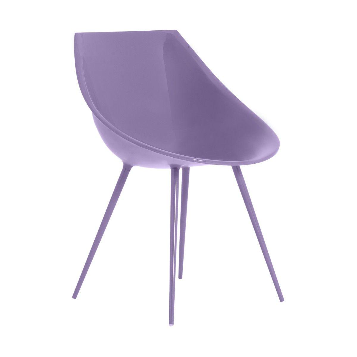 Sedia Lagò lilla design di Philippe Starck | DRIADE | Sedie | Pinterest