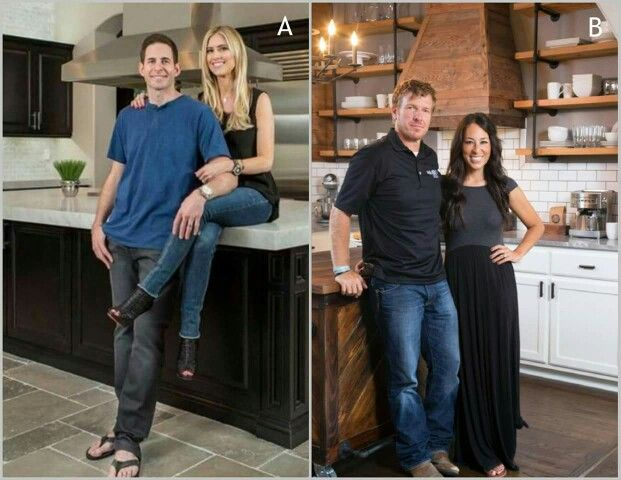 Which couple would you choose to remodel your home? B for me.