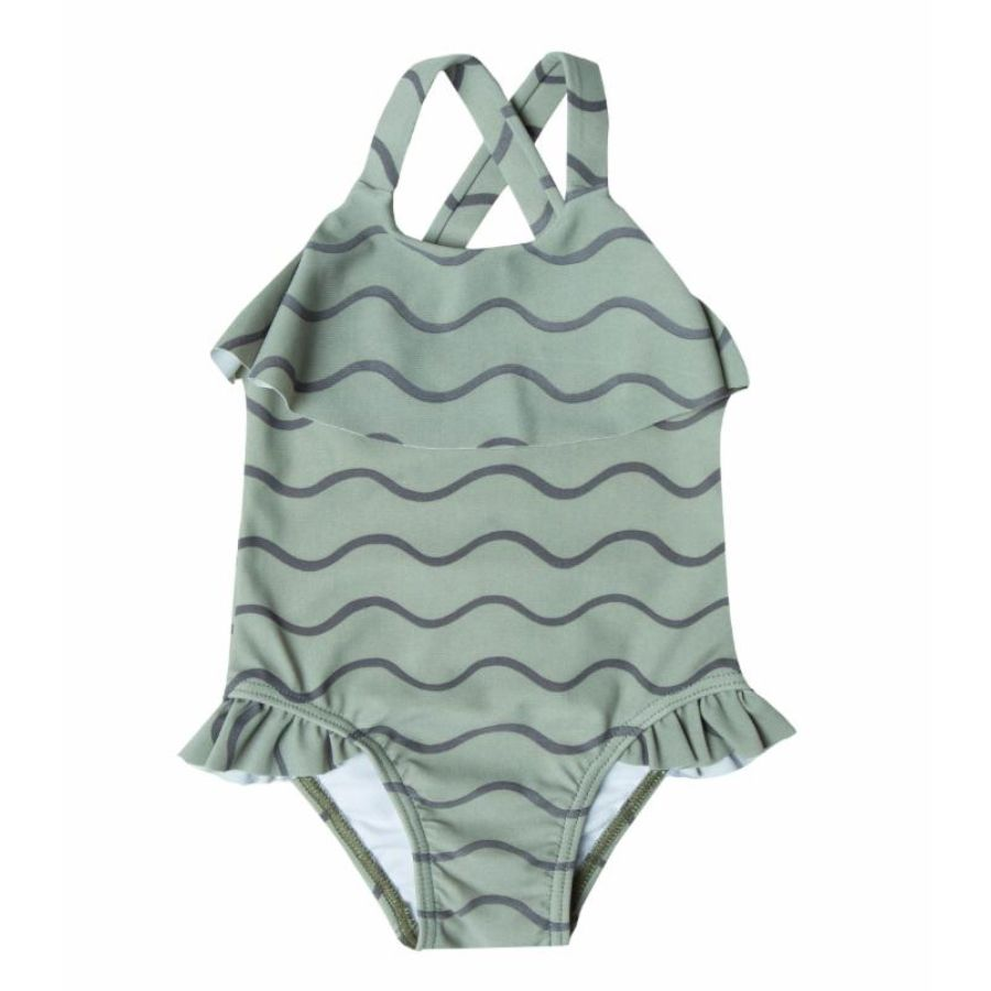 Rylee Cru Swimsuit Rolling Waves Spearmint Ventures Llc Kids Boutique Clothing Baby Boutique Clothing Swimsuits