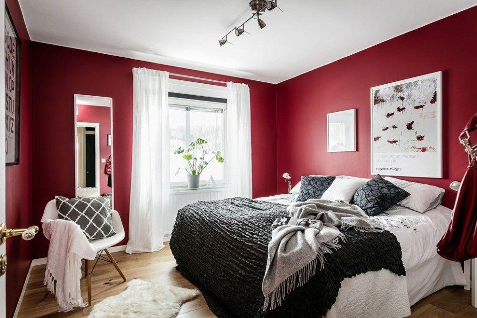 Coup de folie  Bedroom  Chambre  Accent wall bedroom