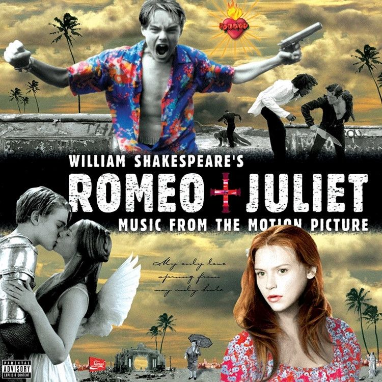 William Shakespeare's Romeo And Juliet: Music From The Motion Picture - Various Artists on LP