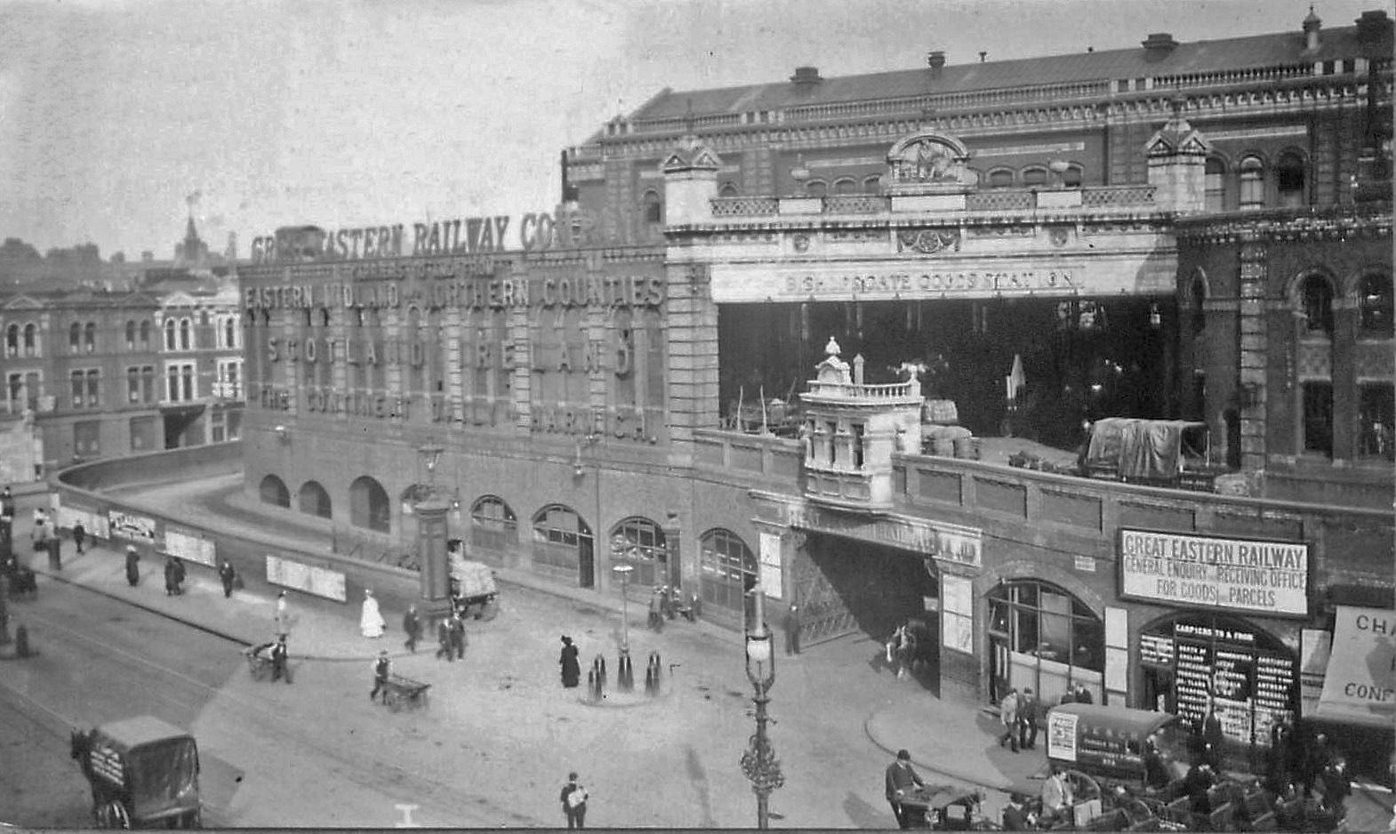 Bishopsgate Railway Station Photo Great Eastern Railway