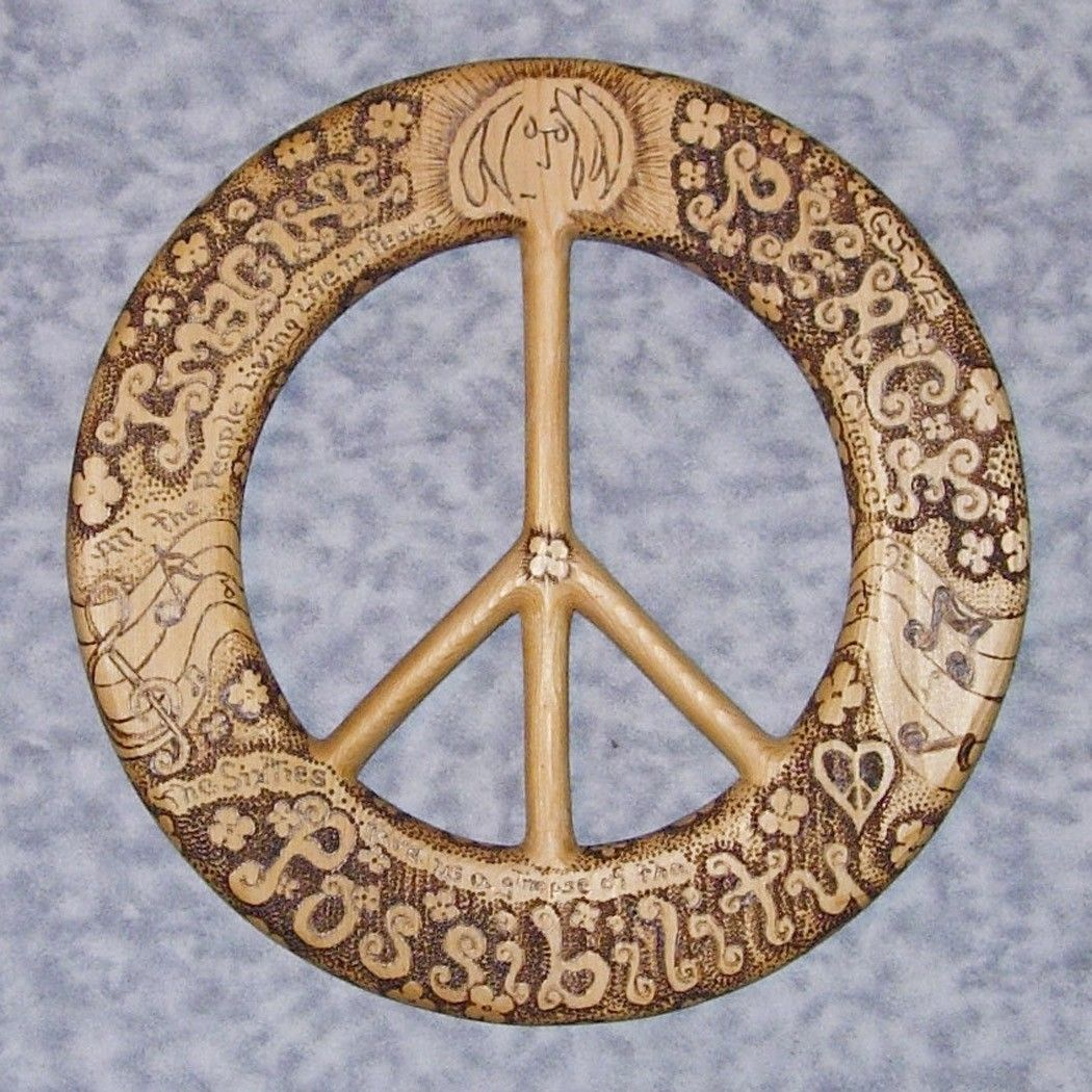 Words of peace john lennon quotes wood burned peace symbol words of peace john lennon quotes wood burned peace symbol 16800 via buycottarizona