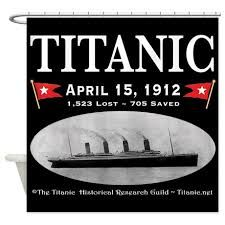 Image Result For Shower Curtain Rms Titanic Ghost Ship Black