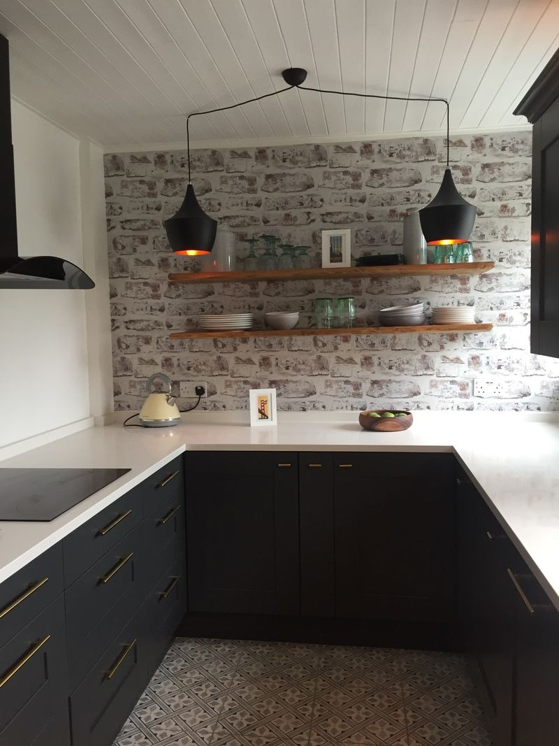 the kitchen is finished after months of sweat and tears my dream rh pinterest com