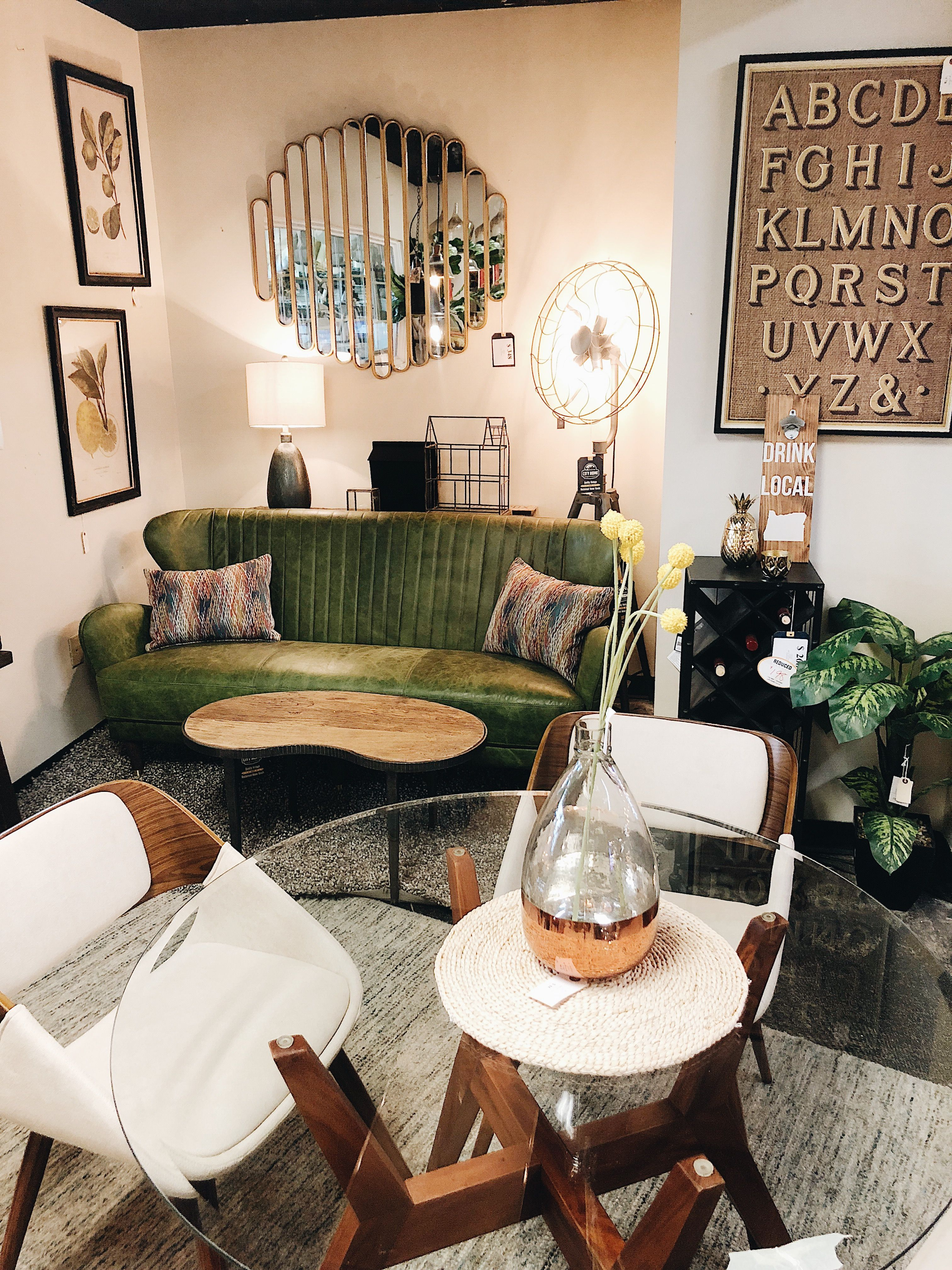 Shop mid century modern furniture and decor at city home in portland oregon