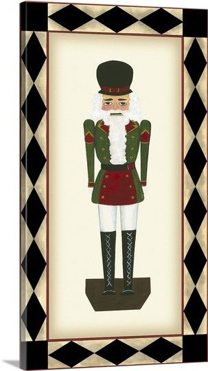 Nutcracker Ii Christmas Poster Canvas Photo Prints Nutcracker