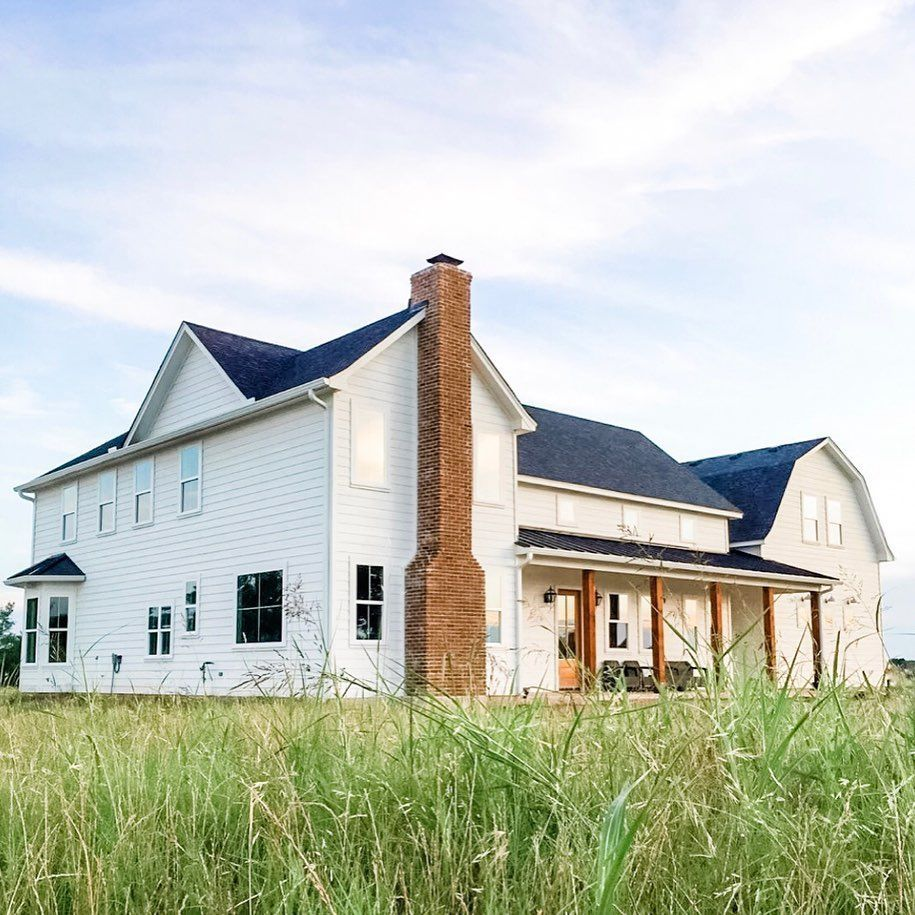 33+ Modern farmhouse with brick accents info