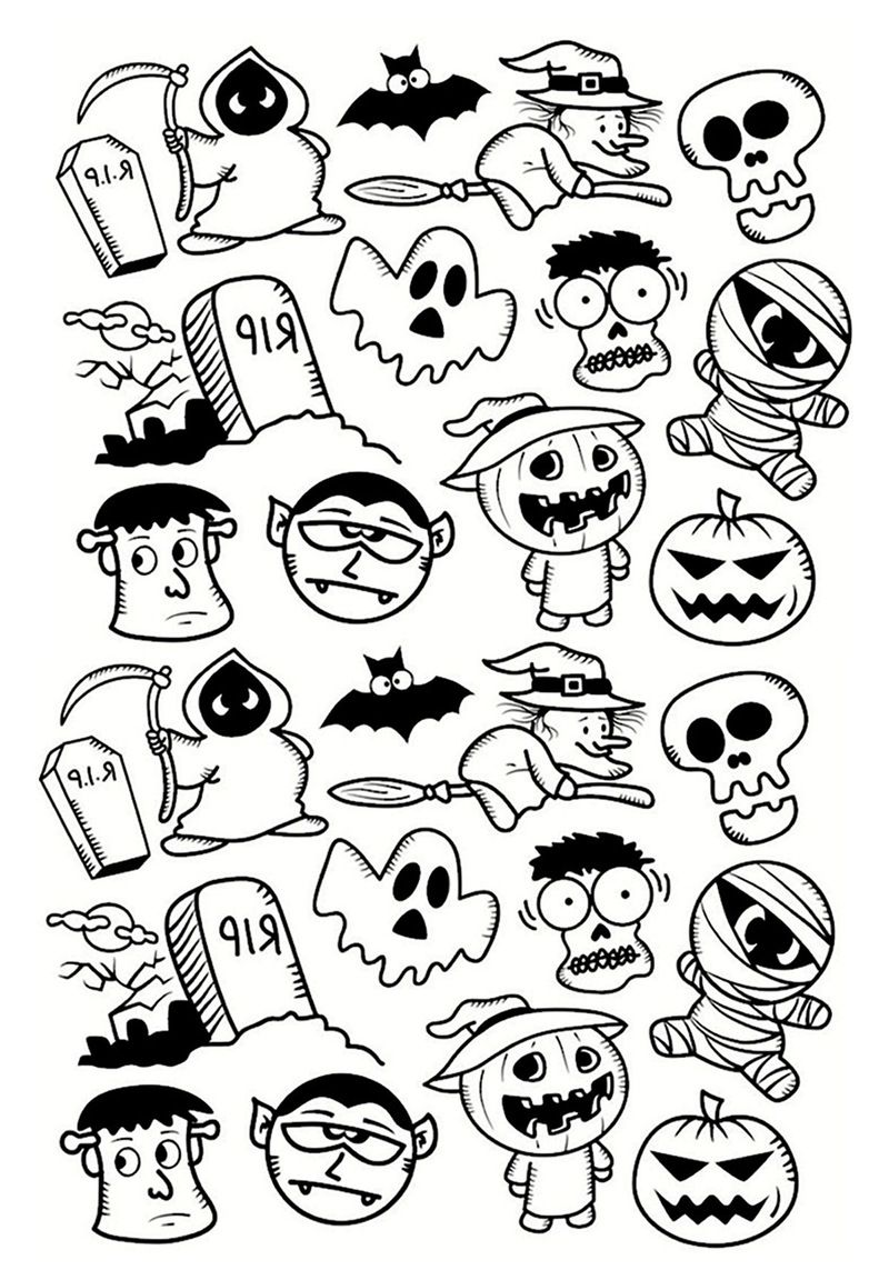 12 Halloween Coloring Page Printables to Keep Kids (and ...