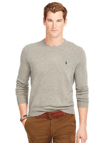 Polo Ralph Lauren Wool Crewneck Sweater - Polo Ralph Lauren Crewneck - Ralph  Lauren France