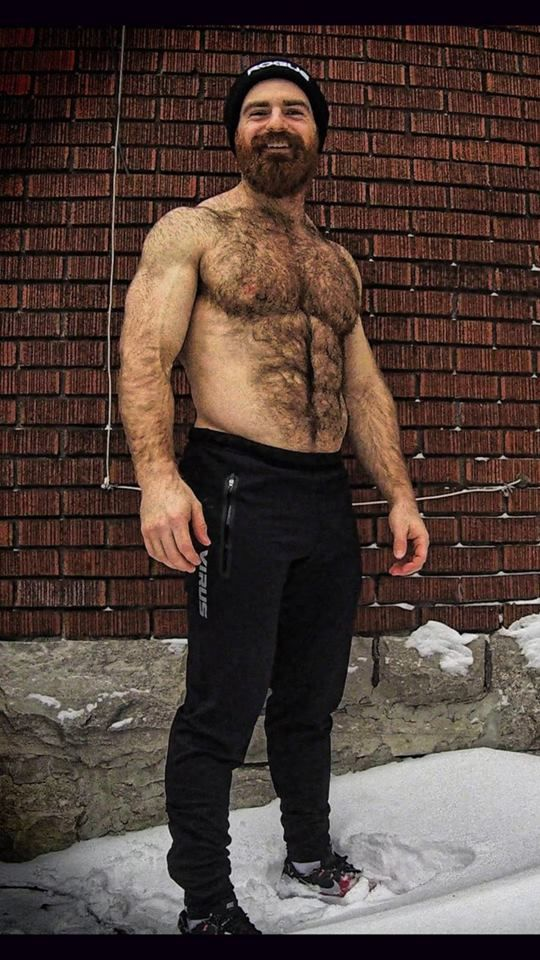 Hairy Guy Solo Time
