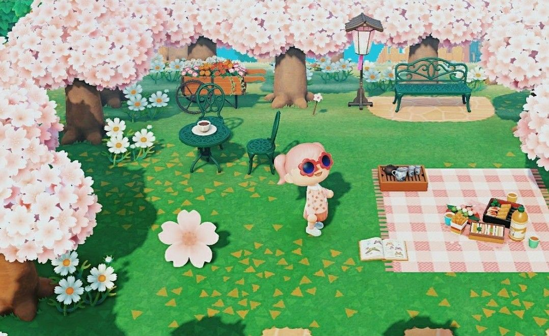 Pin By Elodie Dupuy On Animal Crossing Blossom Trees Cherry Blossom Tree Animal Crossing