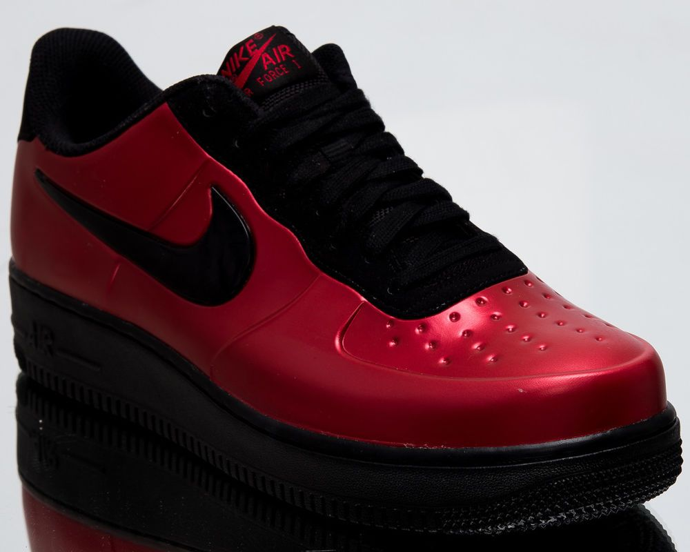 03160870a0a Nike Air Force 1 Foamposite Pro Cup Men New Sneaker Men Gym Red Shoes AJ3664 -601