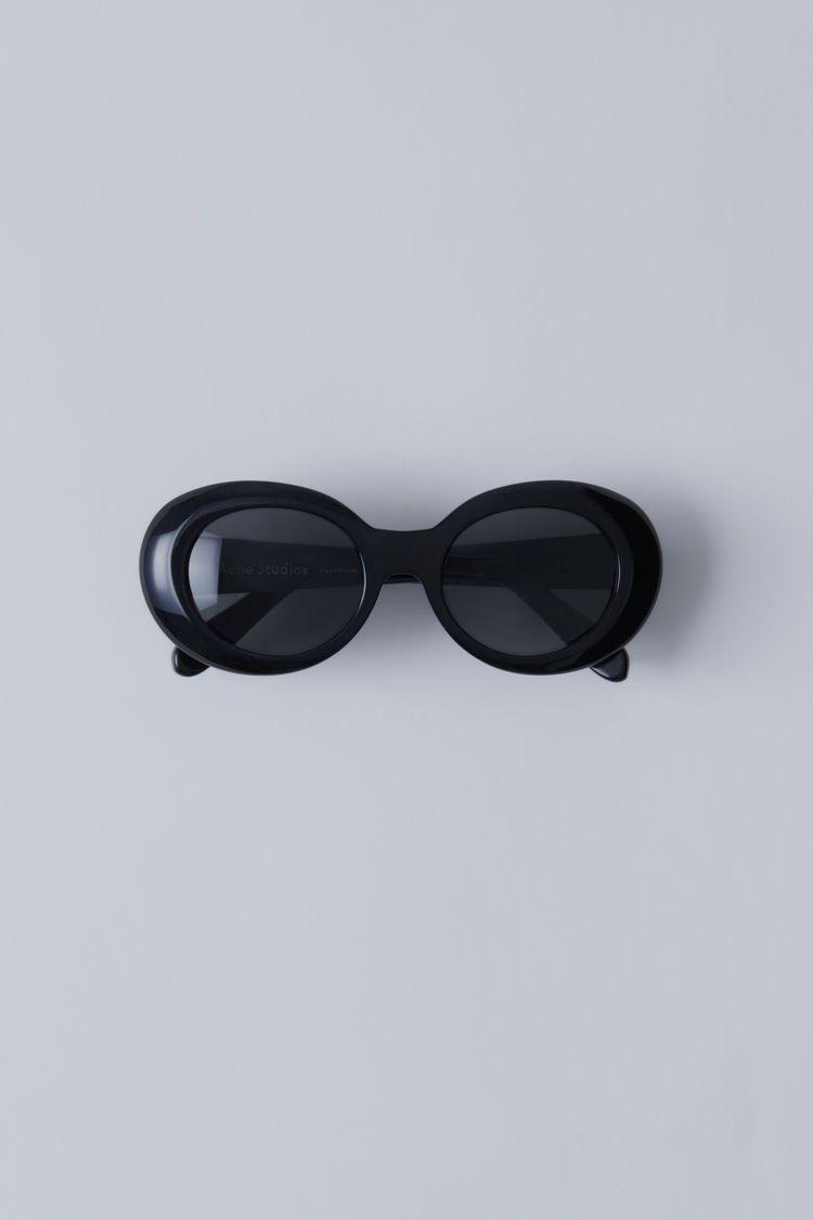 Mustang Oval-frame Acetate Sunglasses - White Acne Studios rxLAPrO